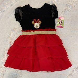 Disney Minnie Mouse Dress - Size 2T NWT